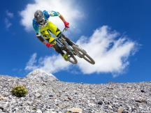 Mountainbike-Figuren