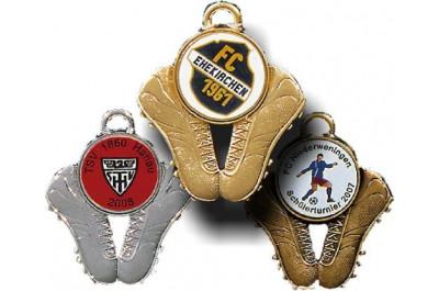 Fussballschuh Medaillen