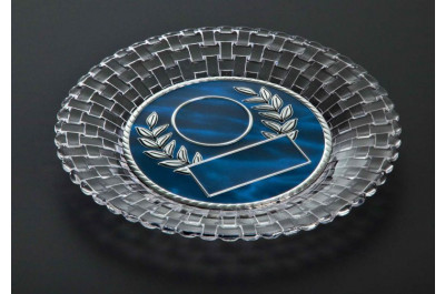Kristallglasteller Trophäen