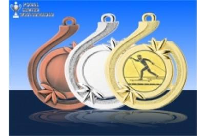 Medaillenfront - Welle der Erfolgs