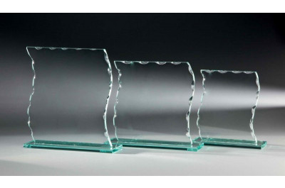 Geschwungene Glasständer