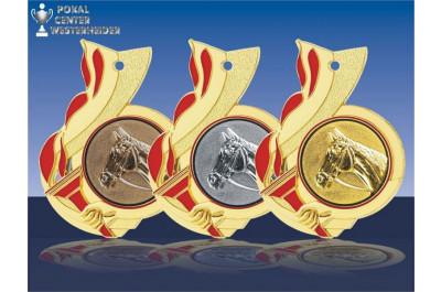 Fackel Reitsport Medaillen
