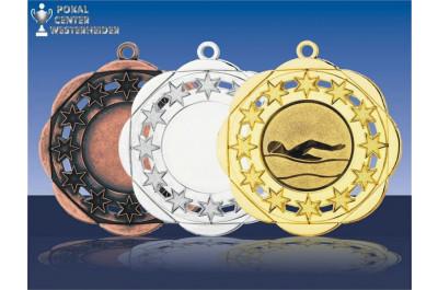 Medaillenfront - Sternenhimmel