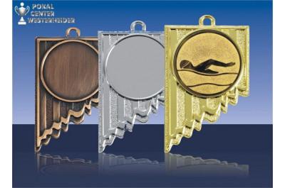 Schwimm Medaillen Sonderform