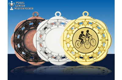 Sternen-Look Radsportmedaillen