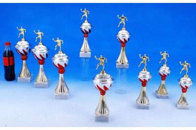 Handball Pokale mit Flammendekor 5022-34238