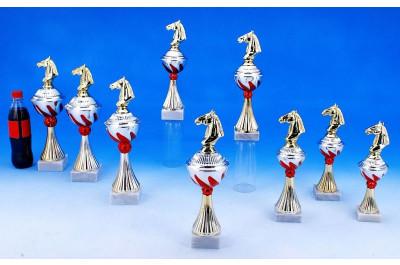 Reitsport Pokale mit Flammendekor 5022-34404