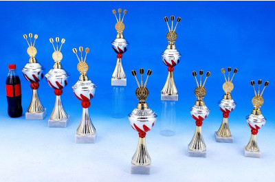 Dart Pokale mit Flammendekor 5022-34102