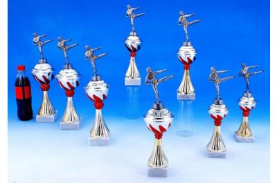 Karate Pokale mit Flammendekor 5022-34280