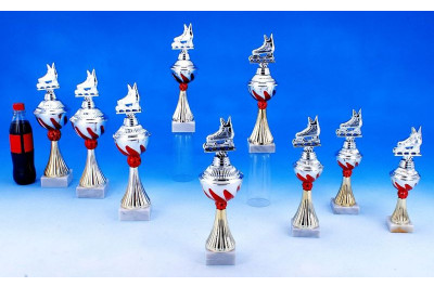 Inlineskating Pokale mit Flammendekor 5022-34250