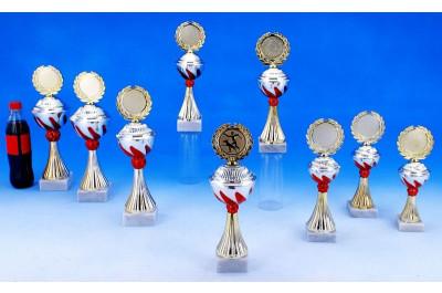 Agility Pokale mit Flammendekor 5022-60386