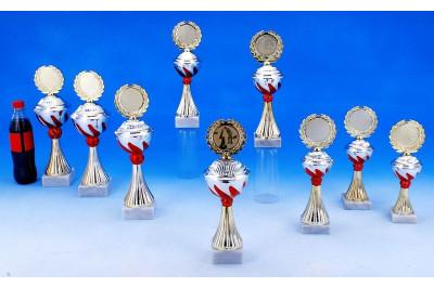 Minigolf Pokale mit Flammendekor 5022-60686