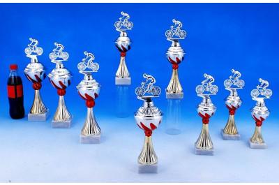 Radsport Pokale mit Flammendekor 5022-34370