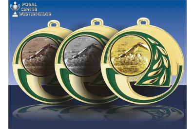 Noblesse Schwimm Medaillen BD34grün-3DB47