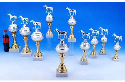 Reitturnier Pokale in Bi-color 5035-34392