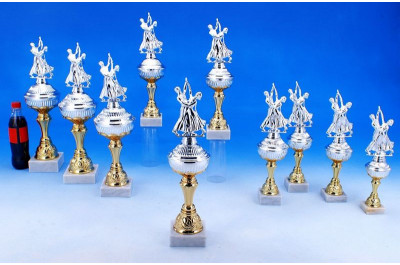 Tanzsport Pokale in Bi-color 5035-34556