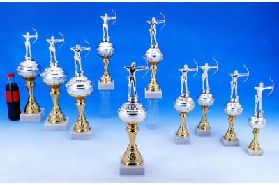 Pokale Bogenschießen in Bi-color 5035-34486