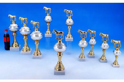 Westernreit Pokale in Bi-color 5035-34397