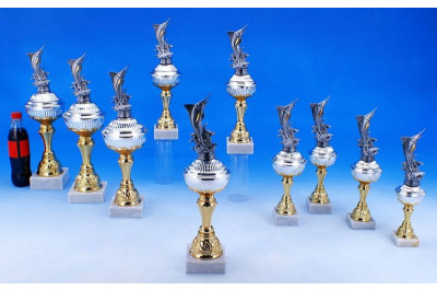 Hochseeangel Pokale in Bi-color 5035-34036