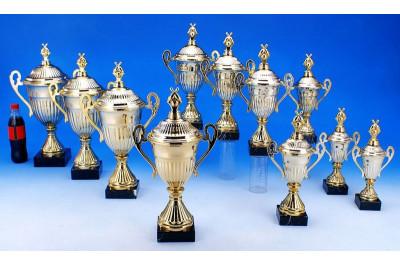 Bowling Pokale mit Henkel