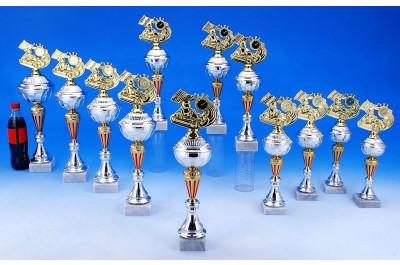 Go Kart Pokale in gold-silber-rot 5023-34360