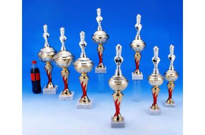 Schach Pokale mit rotem Flammeneffekt 5038-34434