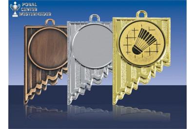 Badminton Medaillen RE198-B34