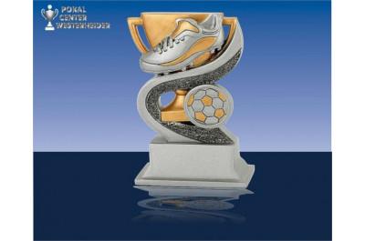 Siegercup mit Schuh und Ball