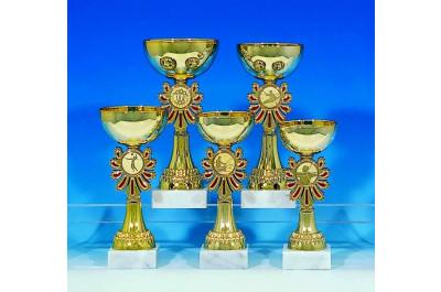 5er Pokalserie rot-gold 6024