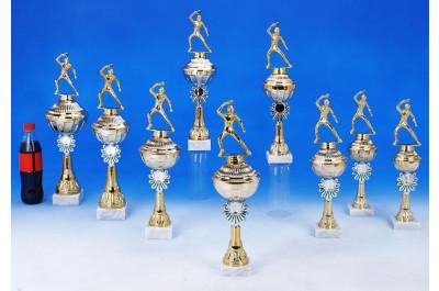 Pokale Tischtennis gold-silber-grün