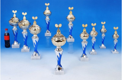 Tennis-Pokale mit Flammendekor 6048-34628