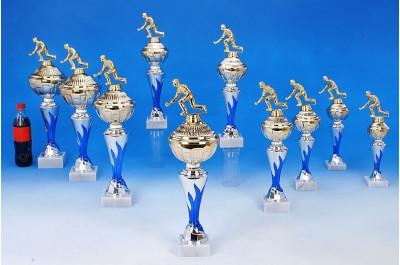Kegel-Pokale mit Flammendekor 6048-34284