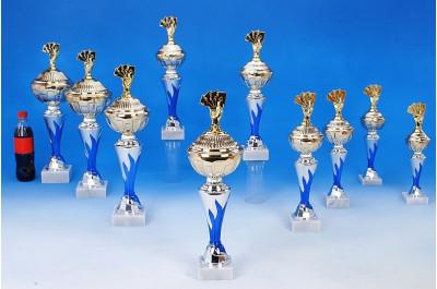 Poker-Pokale mit Flammendekor 6048-34430