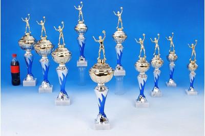 Volleyball-Pokale mit Flammendekor 6048-34634