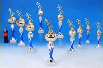 Marathon-Pokale mit Flammendekor 6048-34308