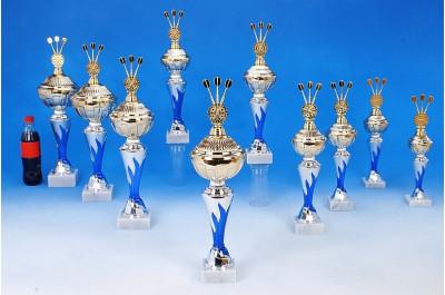 Dart-Pokale mit Flammendekor