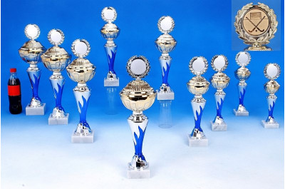 Pokale mit Flammendekor 6048-60362 Hockeypokale