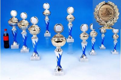 Gokart-Pokale mit Flammendekor 6048-60308