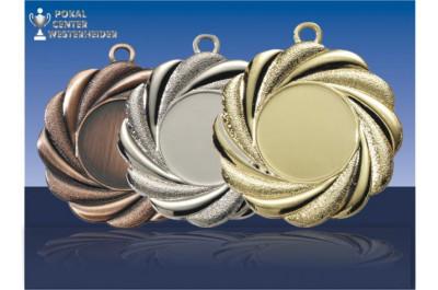 Medaillen mit Fächerprägung