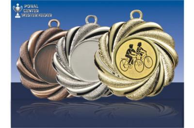 Medaillen Volksradfahren Fächer