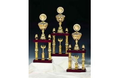 Doppel-Säulenpokale ST-54191 gold