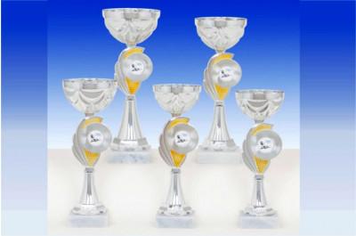 Cup Pokale in silber-gold 6057 Pokale