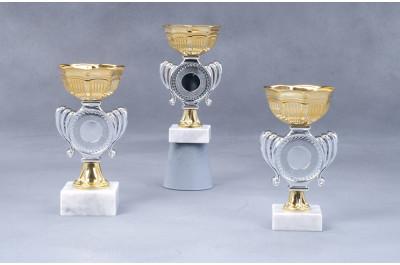 Mini Cup Pokale gold-silber 7009