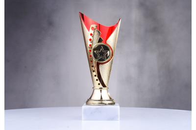 günstige Pokale in rot-gold ST31563