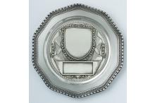 Wappenform Ehrenzinnteller inkl. Grvur - Emblem