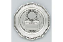 Ehrenpreis Zinnteller inklusiv Emblem und Gravur
