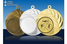 Medaillenfront - Olivenzweig