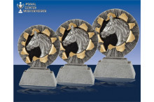 3er Relief Reitsport Figuren Serie