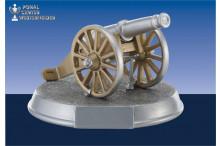 Torjägerkanone in silber-gold für den Torschützenkönig