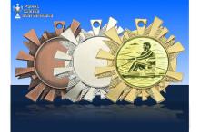 Medaillenfront - Eiskristall